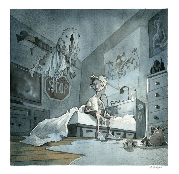Guys Read terrifying tales gris grimly ghost stories