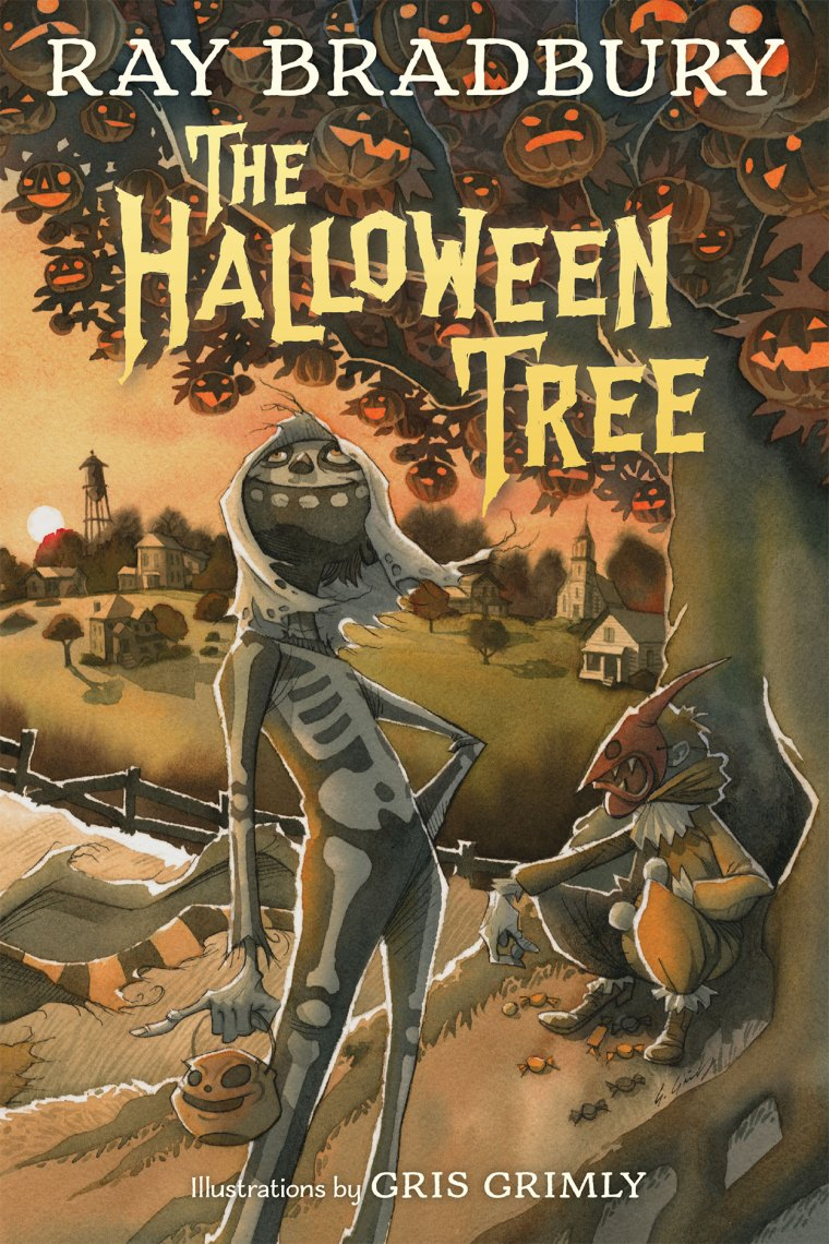 The Halloween Tree gris grimly ray bradbury halloween autumn jackolantern