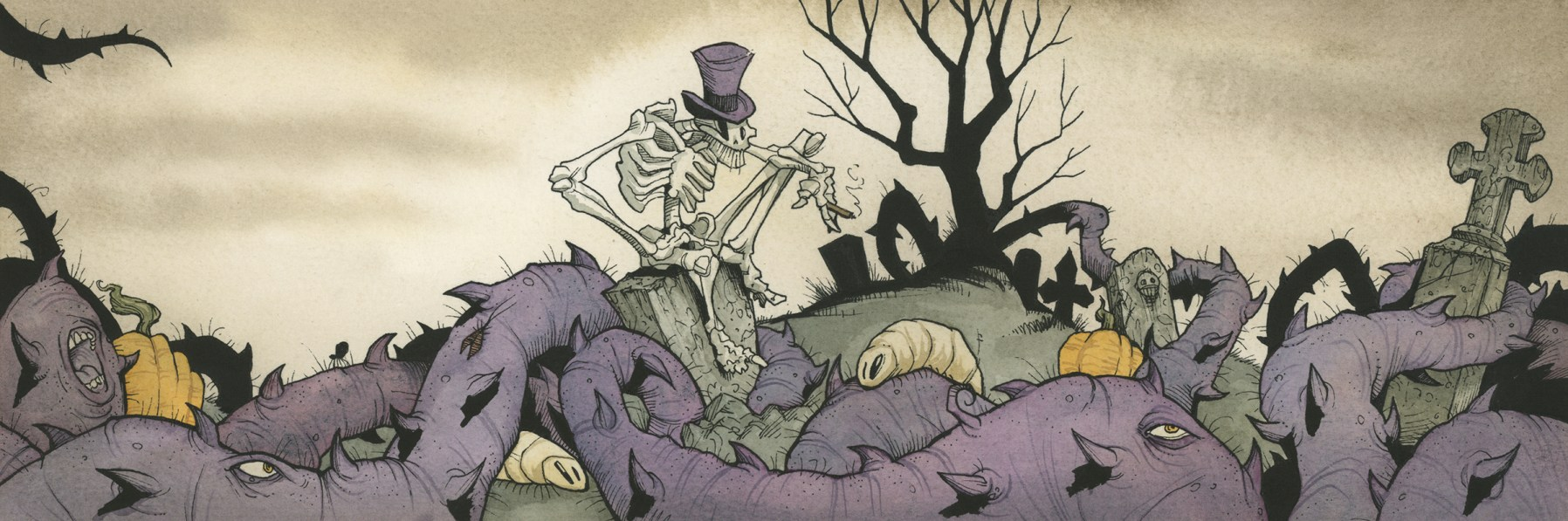 Mortimer Ashes to ashes gris grimly creature feature curtis rx greatest show unearthed skeleton