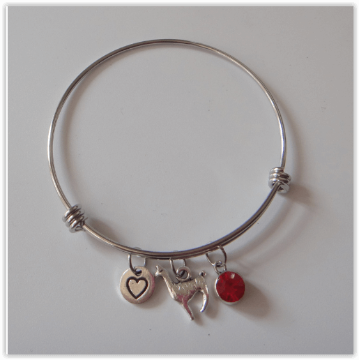 bangle alpaca bracelet