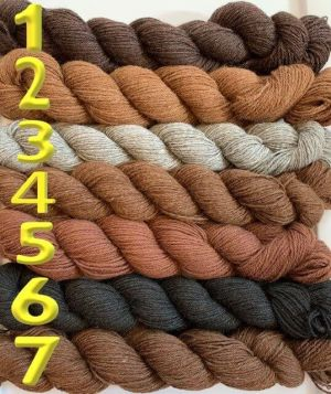 7 types of alpaca yarn