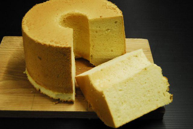 南瓜のシフォンケーキ