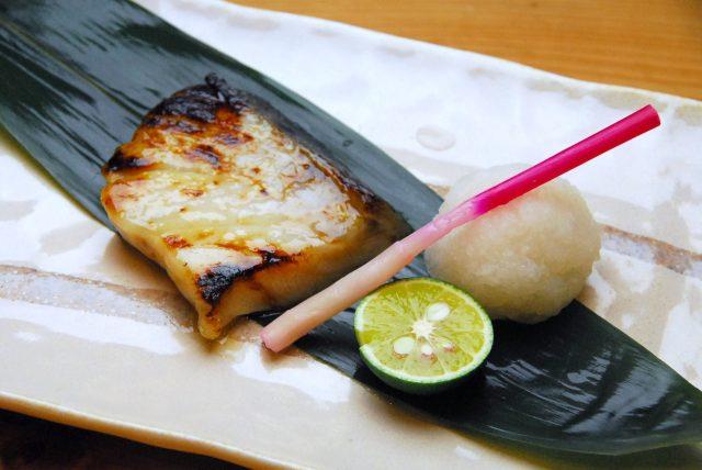 おしつけの西京味噌焼
