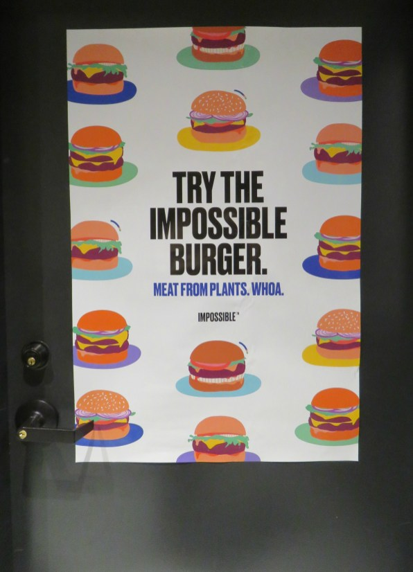 Impossible Burger poster