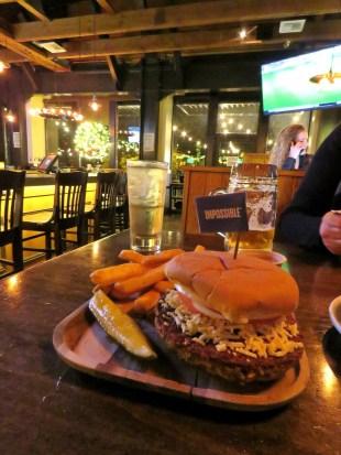 Rhein Haus Impossible Burger