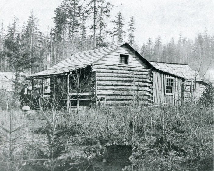 Carr Cabin with porch