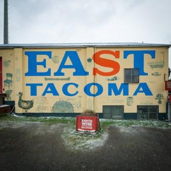 East Tacoma sign