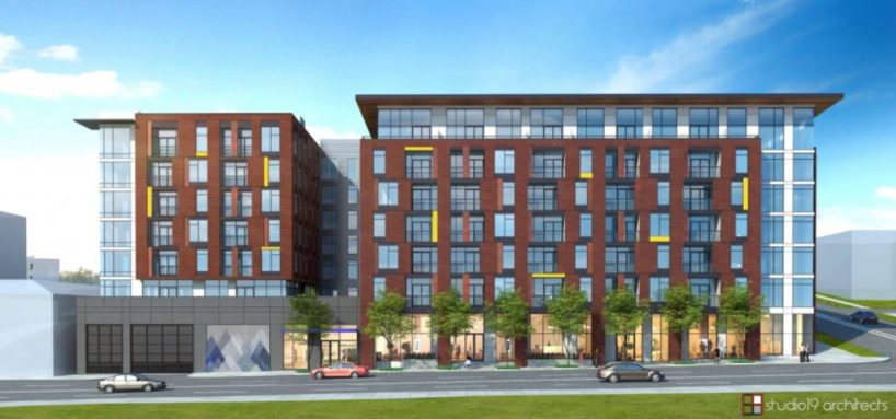 Image - Hailey Apartments Rendering - Courtesy of studio19