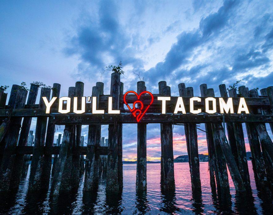 You'll Heart Tacoma sign