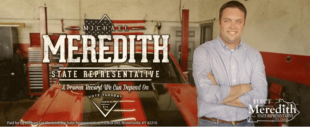 Michael Meredith for State Representative Intro