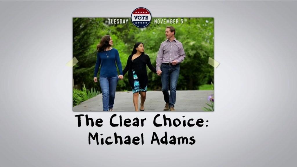The Clear Choice – Michael G. Adams