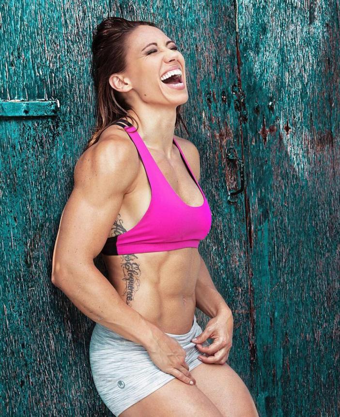 Miranda Oldroyd Laughing