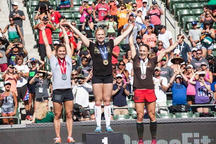 Annie Thorisdottir, Europe, Julie Foucher, Central East and Talayna Fortunato, South East