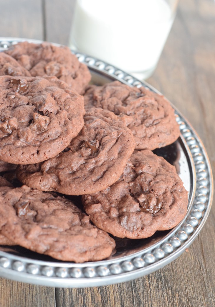 Double Chocolate Pudding Cookies - 3