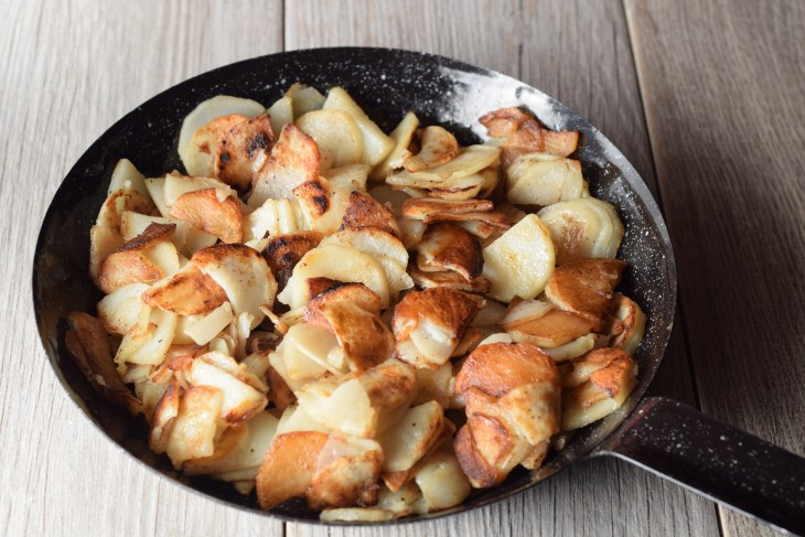 Fried Potatoes whole skillet 6 16 17
