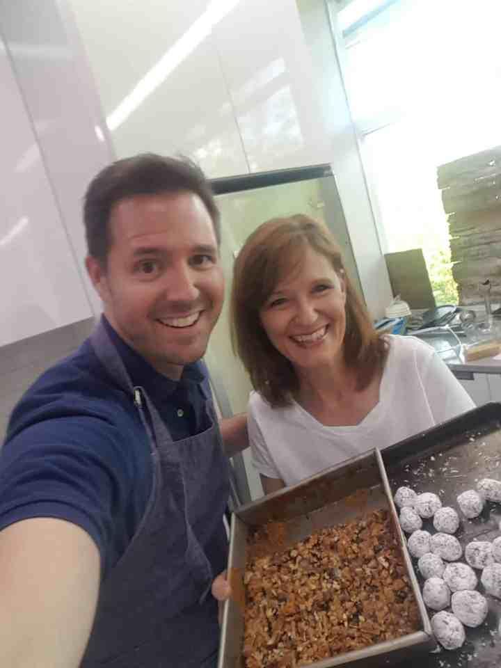 Chadwick Boyd TIFS Kitchen with Kathleen