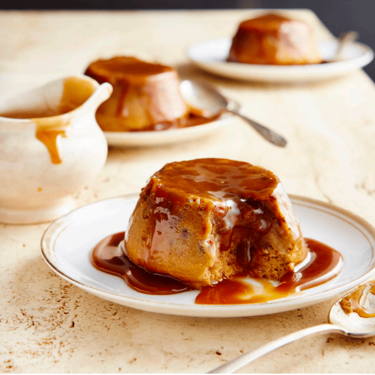 Sample Recipe from Magic Cakes cookbook Sticky Toffee Puddings