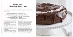 Salted Dark Chocolate Magic Cake