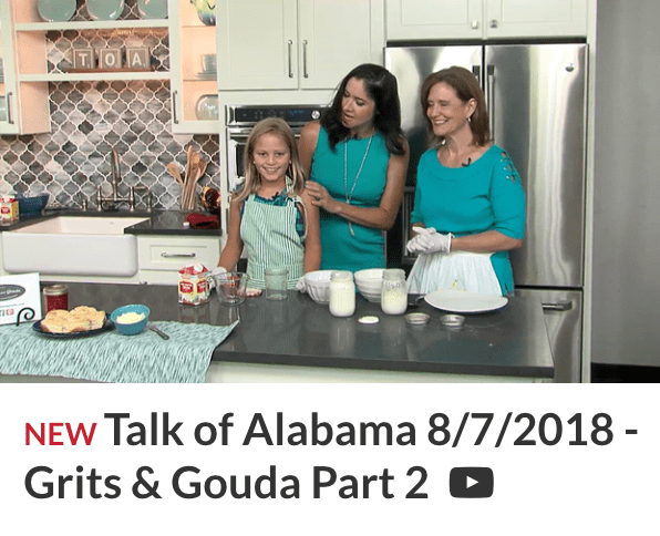 Picture of Talk of Alabama Part 2 video Homemade Butter