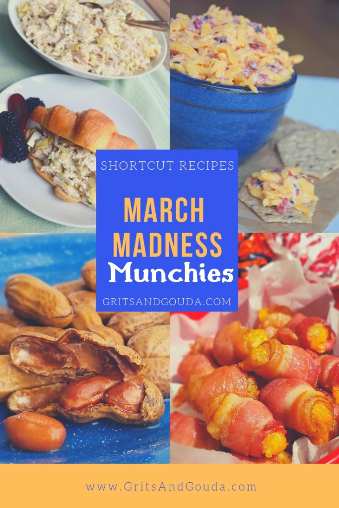 March Madness Munchies Recipe Roundup from GritsAndGouda.com