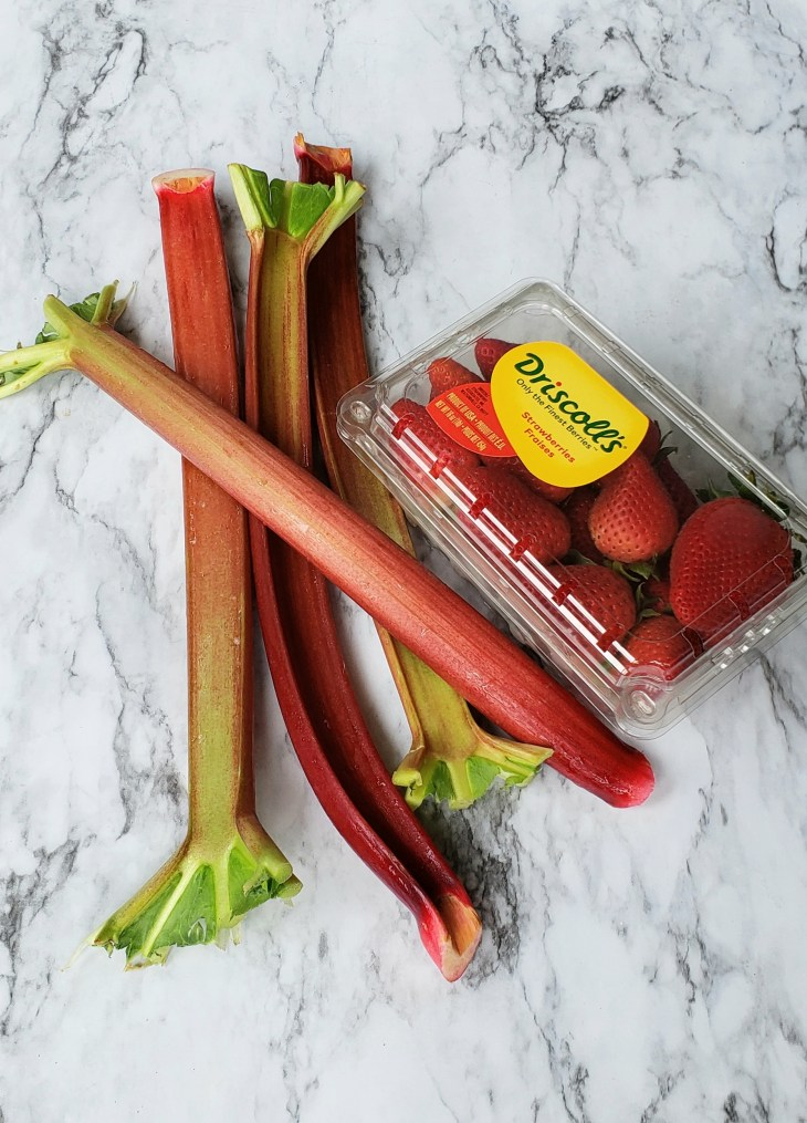 Rhubarb may look like celery because the stalks are the edible part of the plant, but it is not in the same family as celery. It is a perennial plant that is a vegetable although most people think of it as a fruit, and a very tart fruit at that, because it is almost always paired with fruit.