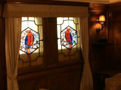 stained glass windows