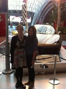 With Lauren
