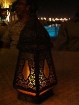 Unique Arabian lamp