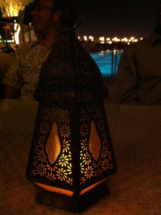 Unique Arabian lamp