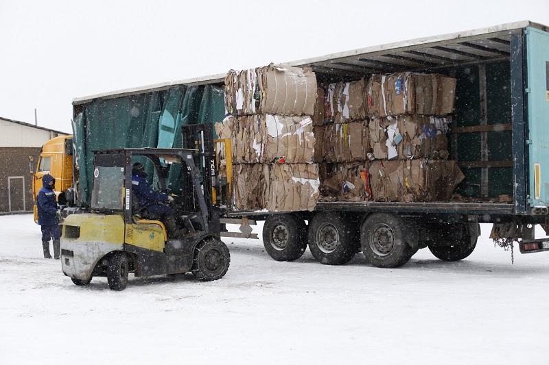 Recycling und Sammlung von Altpapier Bewertungen