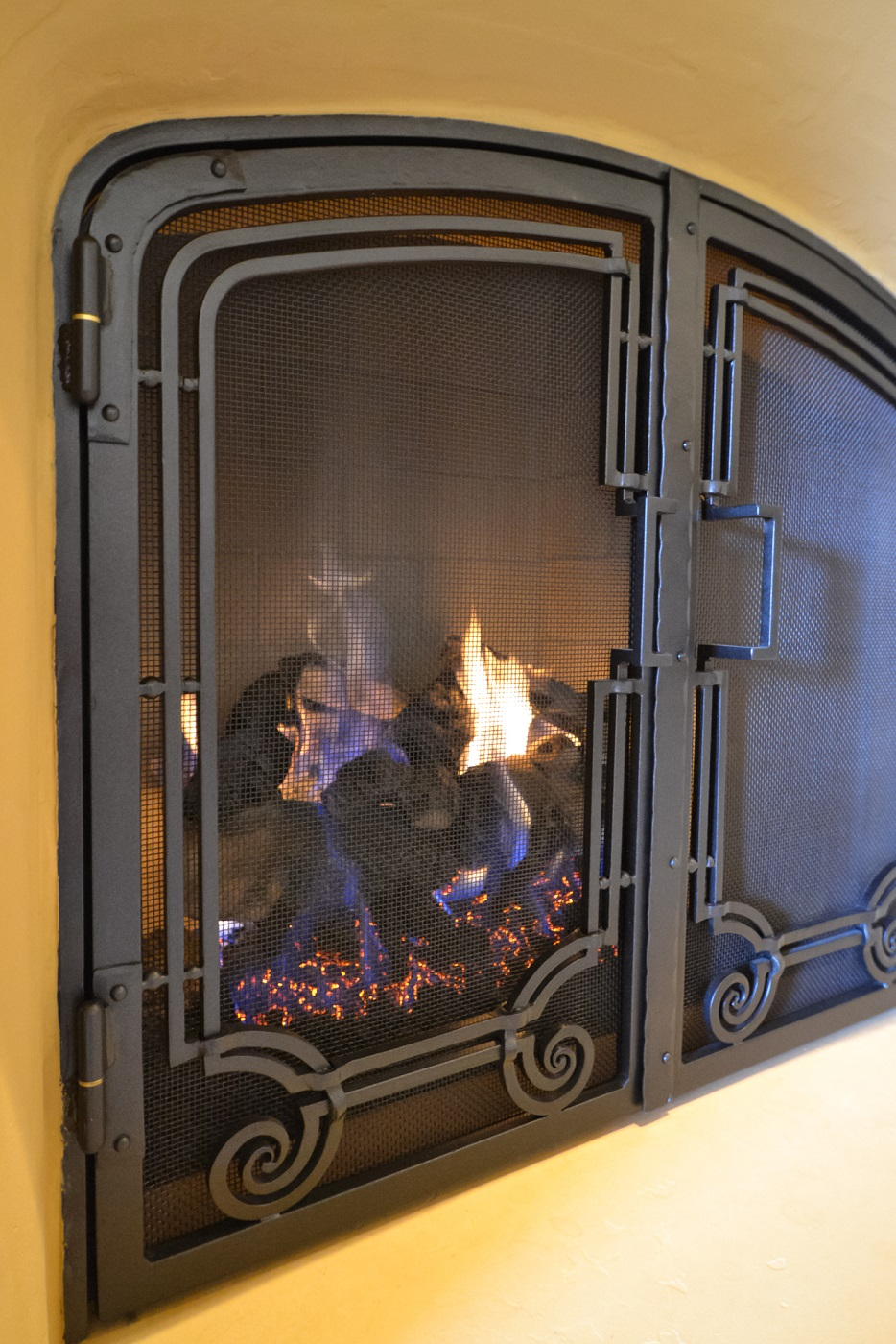fireplace screens grizzly iron inc