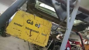Gå ej under hängande last