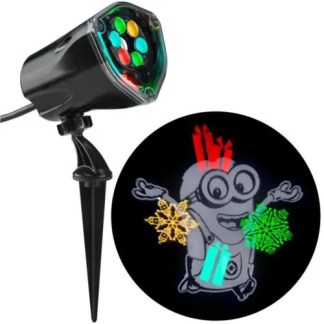 Gemmy Despicable Me Minions Projector