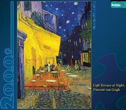 Buffalo Games Cafe Terrace At Night Van Gogh Jigsaw Puzzle