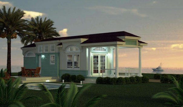 The Staniel Cay II, Winner of the Single Section Concept Home at the 2012 MHI Congress and Expo. Design by Palm Harbor Homes.