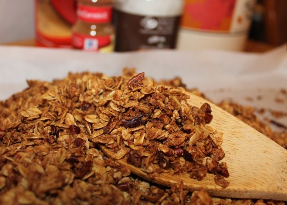 homemade food like granola