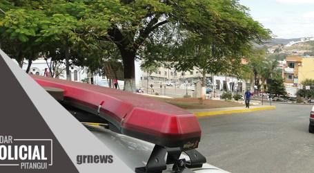 Assaltante dispara tiro e acerta barriga de motociclista durante tentativa de roubo em Pitangui