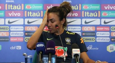 Marta destaca avanços na Seleção Feminina e vai às lágrimas ao falar de Formiga e Pretinha