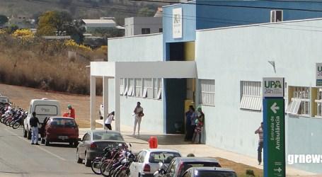 Idosa sofre ferimento no bairro Santos Dumont, após o braço dela ficar preso na porta de lotação