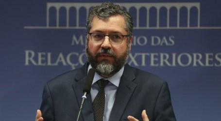 Países sul-americanos devem sair de uma só vez da Unasul, diz Ernesto Araújo