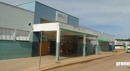 Condutora sofre queda de moto e é socorrida para a UPA de Pará de Minas