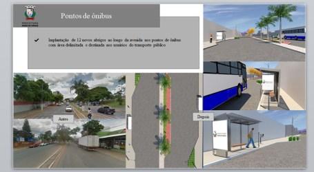 Custo alto de lixeiras e pontos de ônibus na Presidente Vargas assusta; engenheira da prefeitura justifica