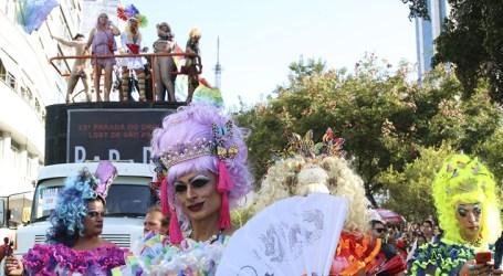 Parada do Orgulho LGBTI+ comemorou a criminalização da homofobia