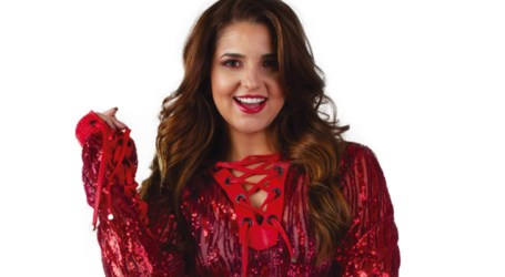 "Andreza promove o álbum ""Interior"". Assista"