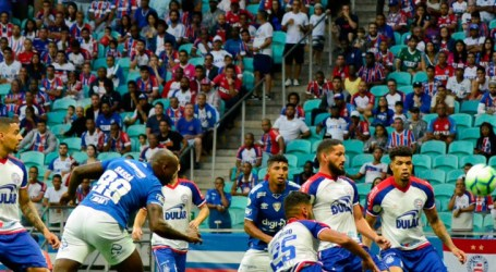 Bahia e Cruzeiro empatam na Arena Fonte Nova