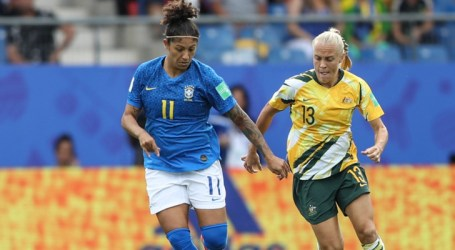 Gol de Cristiane contra Austrália é eleito o melhor da Copa do Mundo