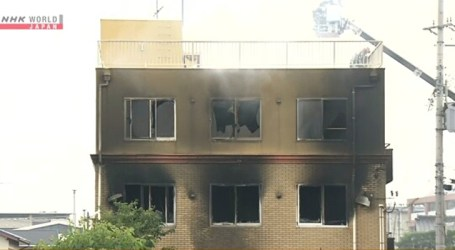 Suspeito de incendiar estúdio no Japão foi indiciado por assalto no passado