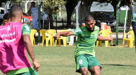 América treina em Goiânia e está pronto para enfrentar o Vila Nova-GO