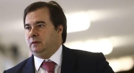 Apenas simplificar o sistema não resolve carga de impostos, diz Rodrigo Maia