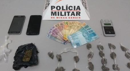 Dupla acusada de tráfico vai parar na Delegacia em Pará de Minas